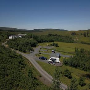 Crannich campsite