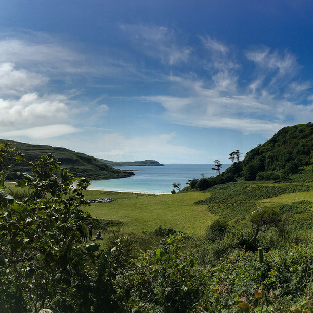 View to Calgary bay