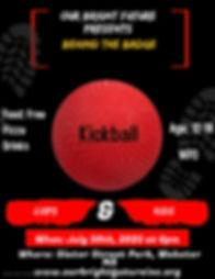 Copy of Kickball Game Flyer Design Templ