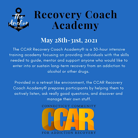 Copy of The CCAR Recovery Coach Academy©