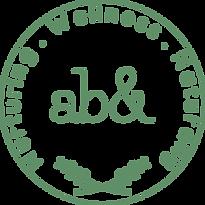 Nurturing Wellness Naturally ab& logo green and white image