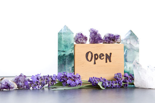 open crystals and flowers.jpg