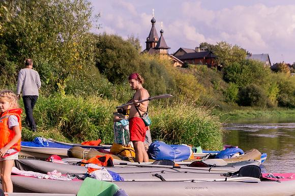Сплав по Москве-реке