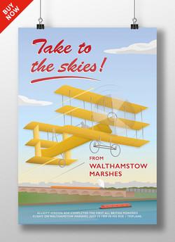 Aeroplane, Walthamstow Marsh