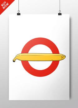 London underground Velvet roundel