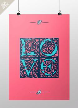 Love, William Morris, Pop art