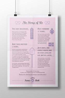 Wedding story, Joe Windsor Design