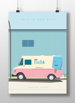 Van City, Vancouver, illustration
