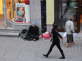 Twarze bezdomności
