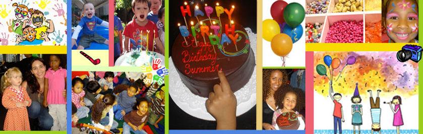 "Fun Birthday Parties Collage , ""New York City, Kids Birthday Party Venue"