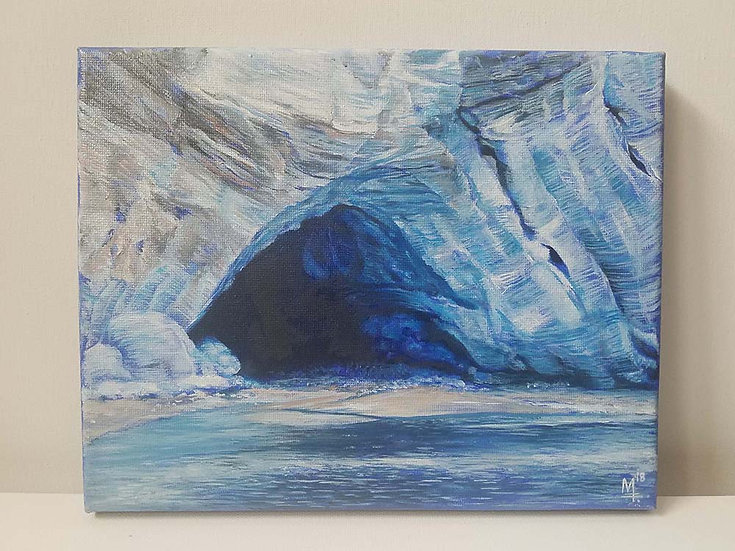 """The Melt. Glacier Bay, Alaska"" - Original Painting"