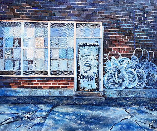"""""""Avon Avenue #2"""" - Original Painting"""