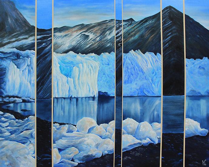 """The Melt. South Georgia, Antarctica"" - Original Painting"