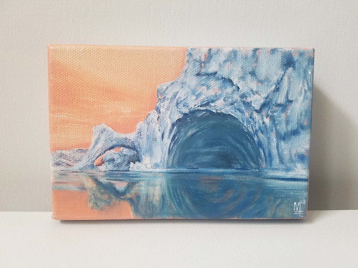 """The Melt. Iceberg in Greenland"" - Original Painting"