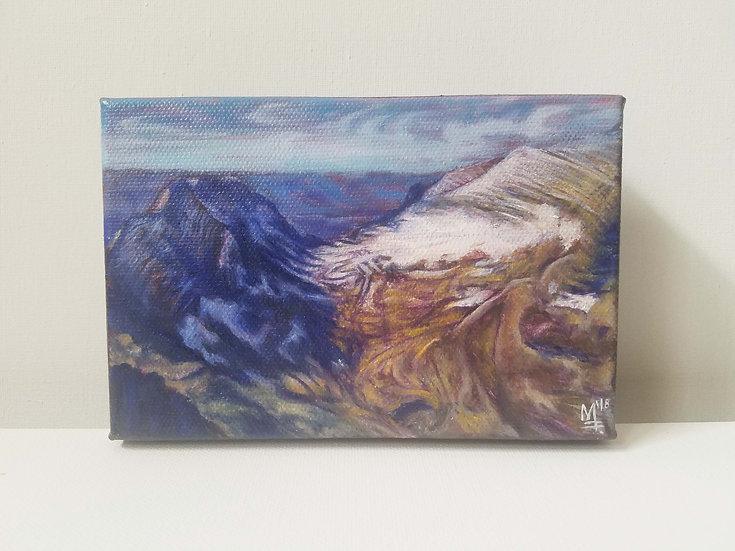 """The Melt. Montana,USA"" - Original Painting"