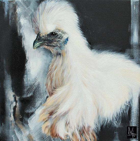 """Silky Chick"" - PRINT"