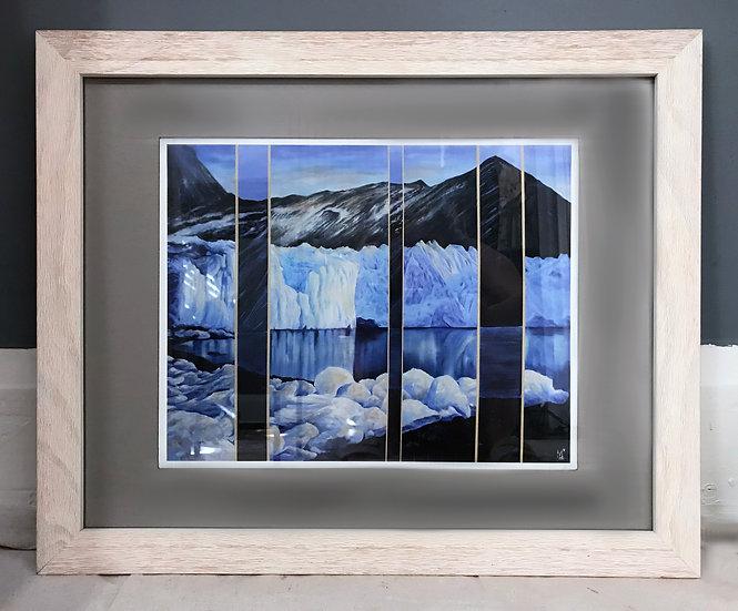 """The Melt. South Georgia, Antarctica"" - PRINT"