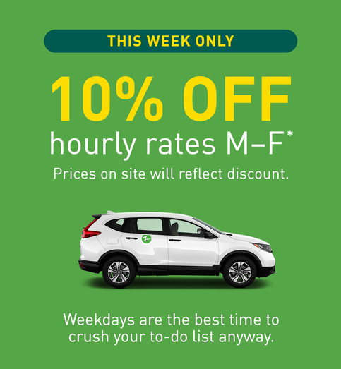 Zipcar Discount Email