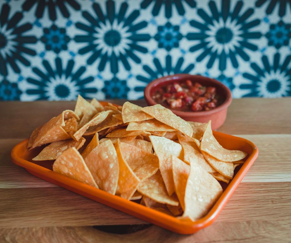 Tortilla and Salsa