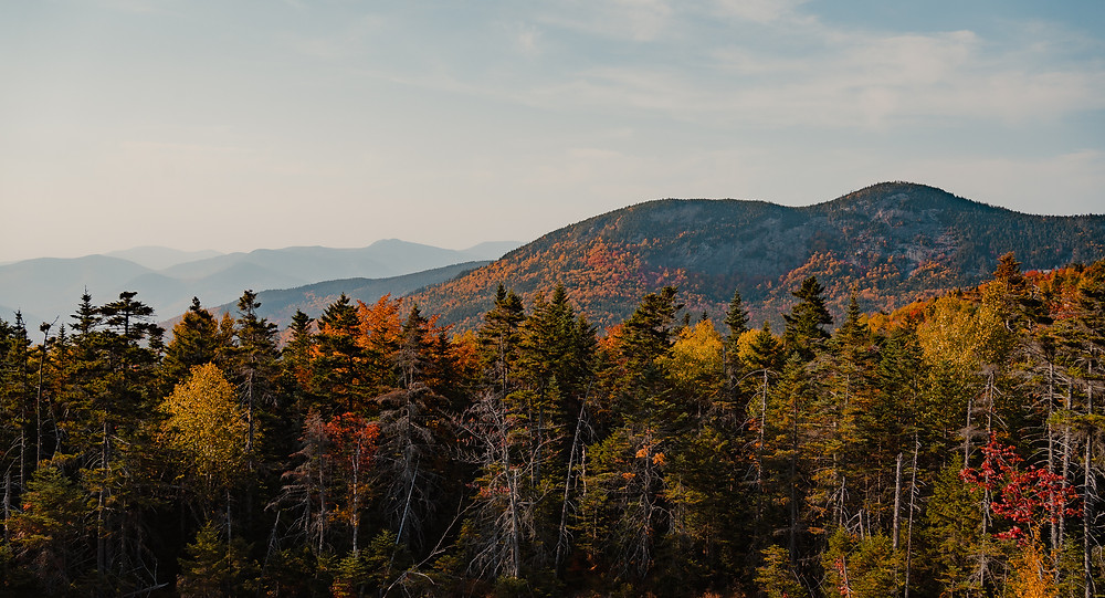 Pemigewasset overlook in the white mountains