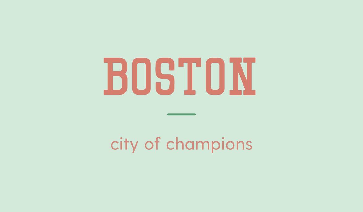 Boston title card