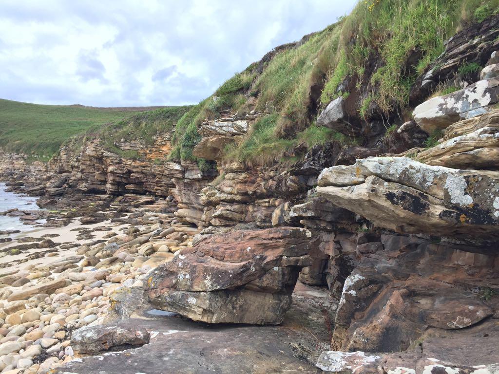 Rocks at Peedie Sands