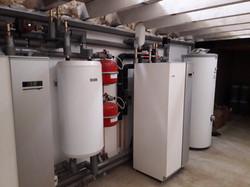 Renewable ground source heating