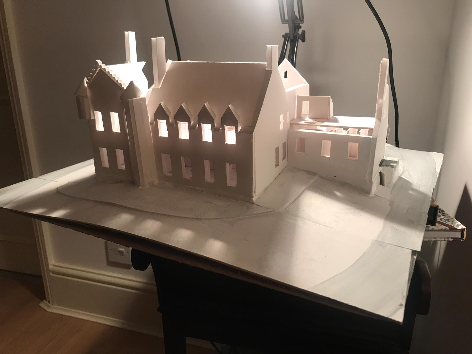 Model of House of the Northern Gate