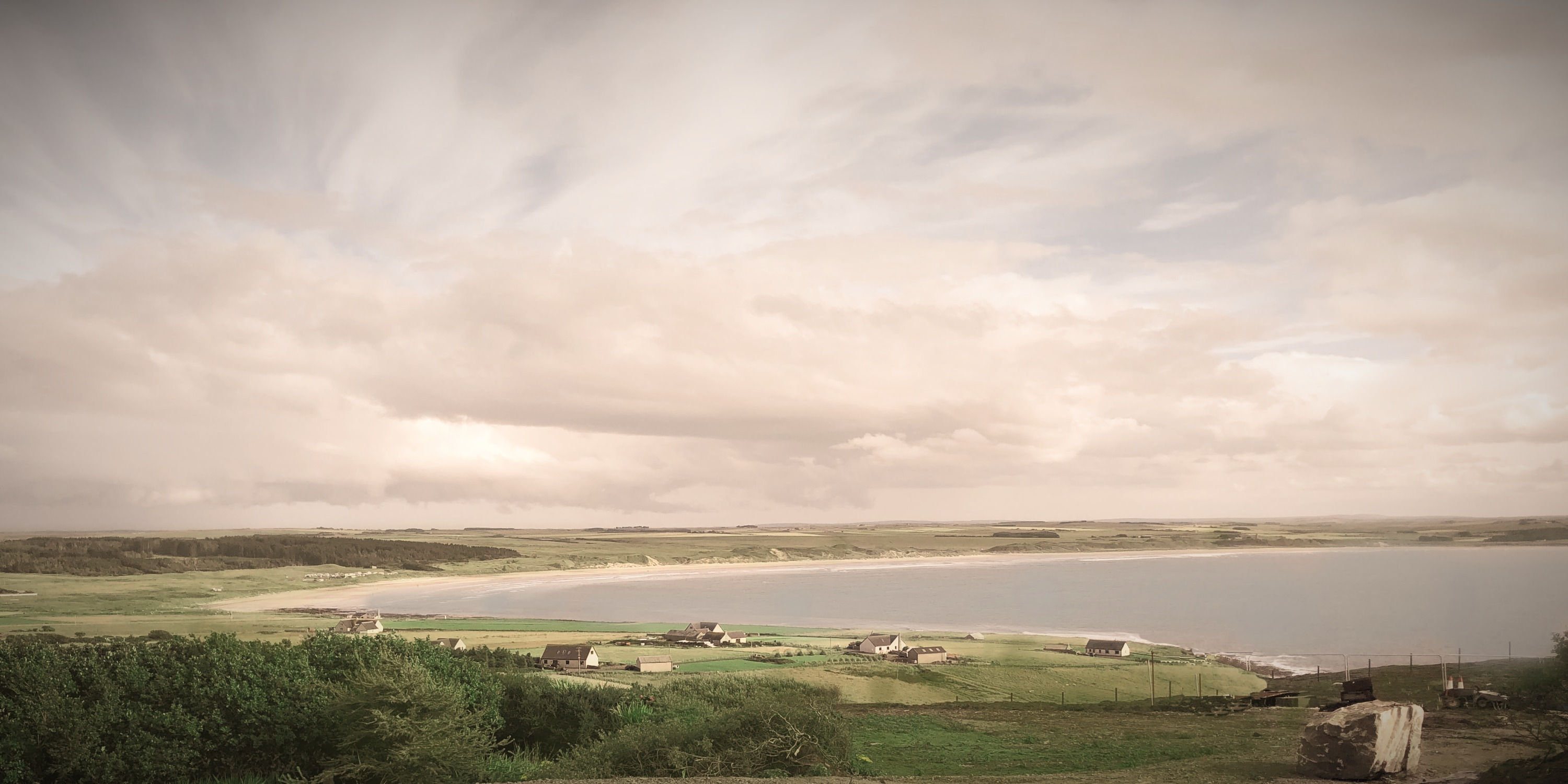 View of Dunnet Bay from House of the Northern Gate