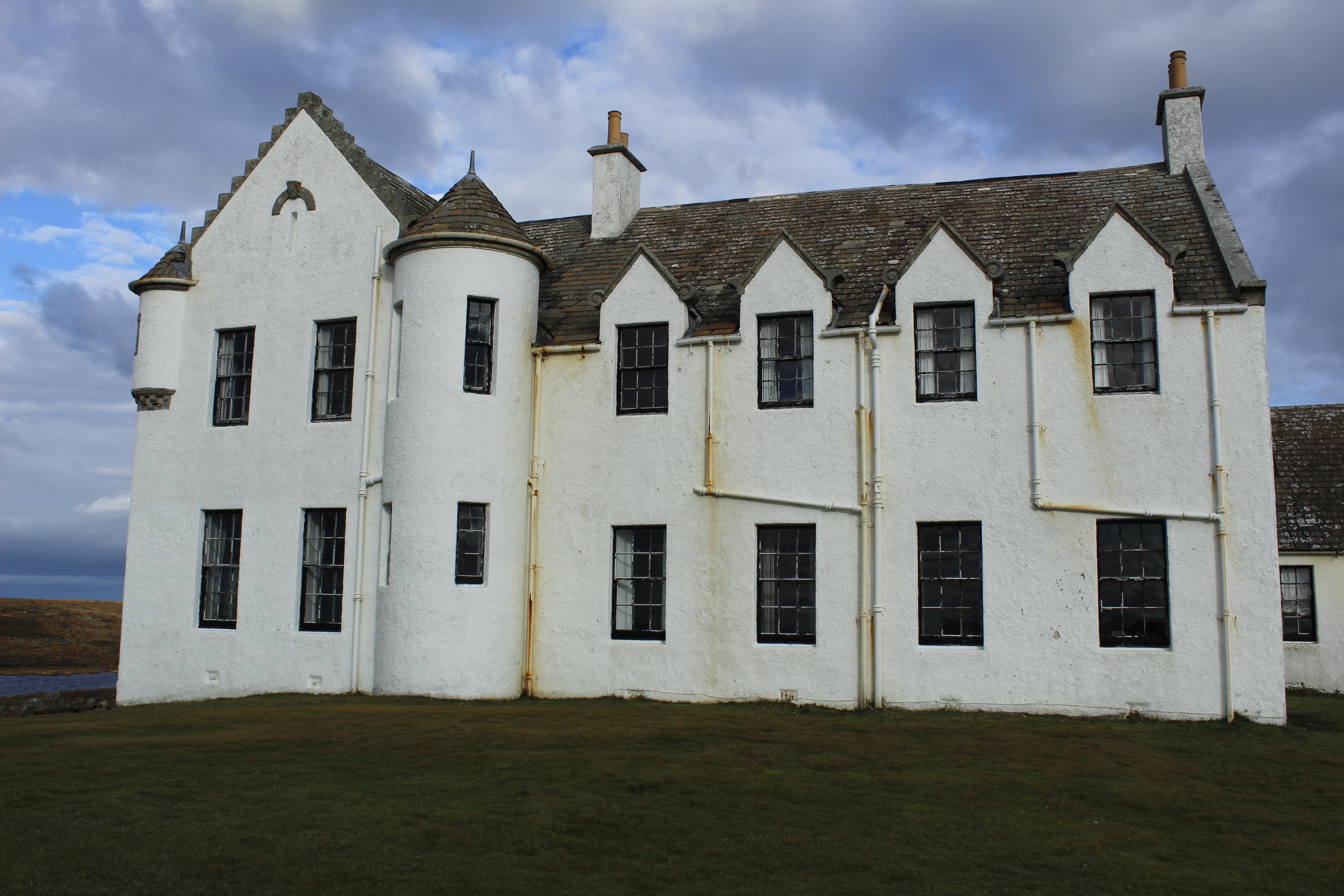 The house pre-renovation