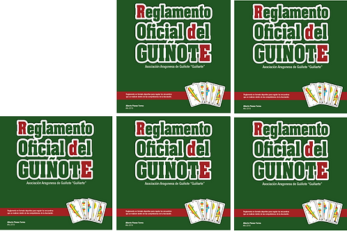 5 unidades del Reglamento Oficial de Guiñote