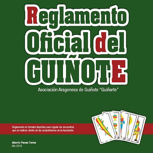 1 unidad de Reglamento Oficial del Guiñote