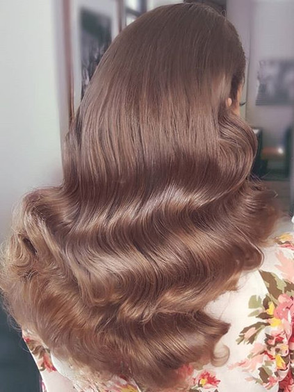 ❤ Soft waves ❤_This was a gorgeous bride