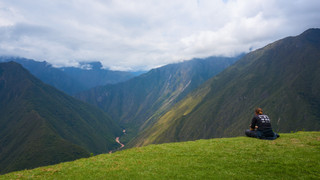 A Rest on the Inca Trail