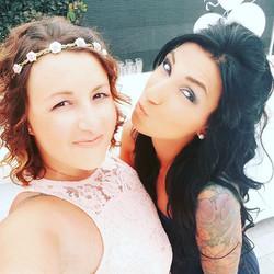 Testimone e damigella! Che meraviglia 💖 #makeupbride #2ptrucco #sposa #bride #trucco #makeup #trucc