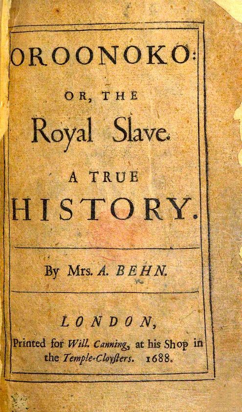ooronoko-aphra behn-British Library-1688