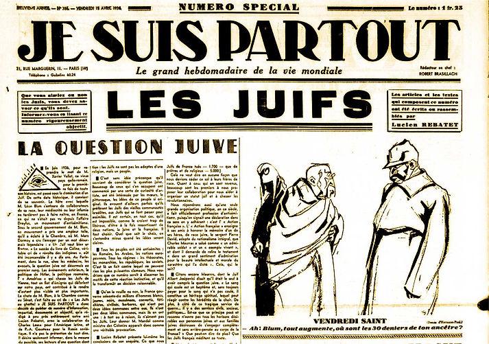 je suis partout-journal 15 avril 1938 -
