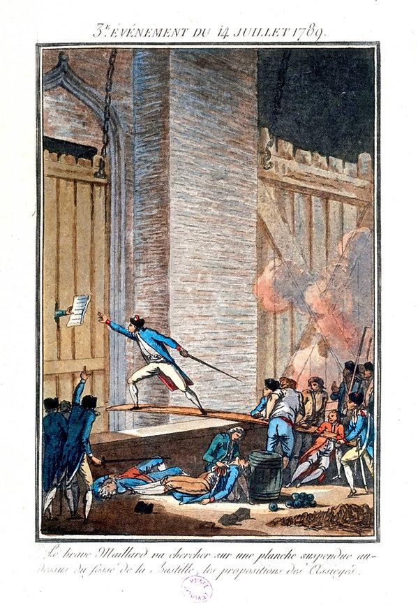 bastille-14  juillet 1789-maillard-propo