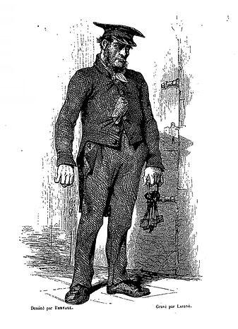 prisons de paris-alhoy-lurine-1846-porte