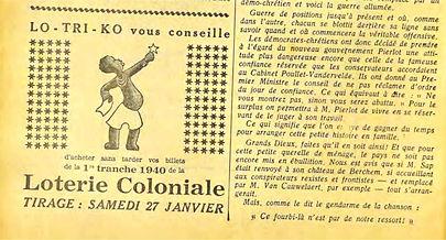 loterie coloniale-revue hebdomadaire pou