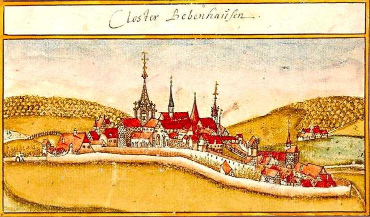 bebenhausen abbaye-andreas kieser-1683-h