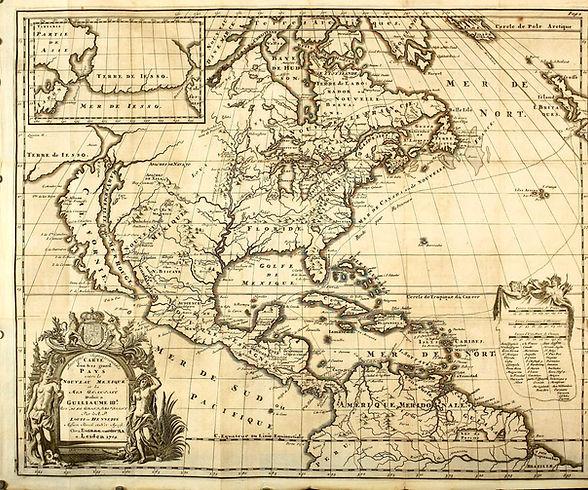 amerique-carte-1704-hennepin-de la borde