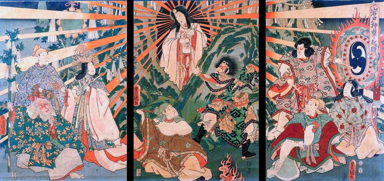 amateratsu-grotte-Utagawa Kunisada-1786-
