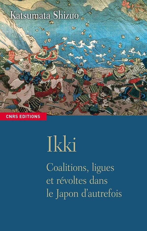 ikki-shizuo katsumata-livre-cnrs edition