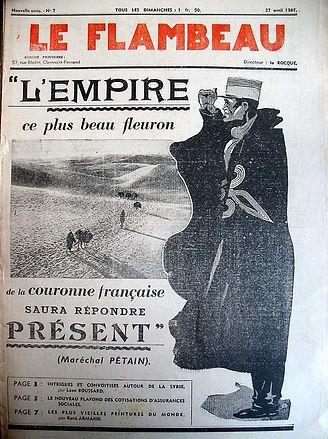 flambeau-journal 27 avril 1941-empire fr