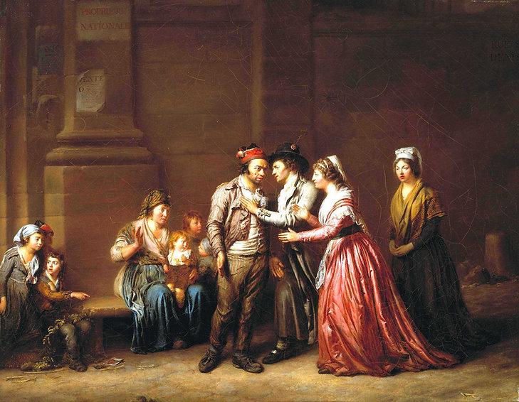 legrand de lerant-une bonne action-1794-