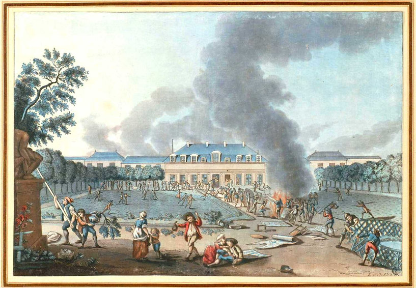 reveillon-folie titon-pillage 27 avril 1789