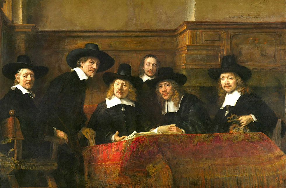 rembrandt-syndic-drapiers-amsterdam-1662
