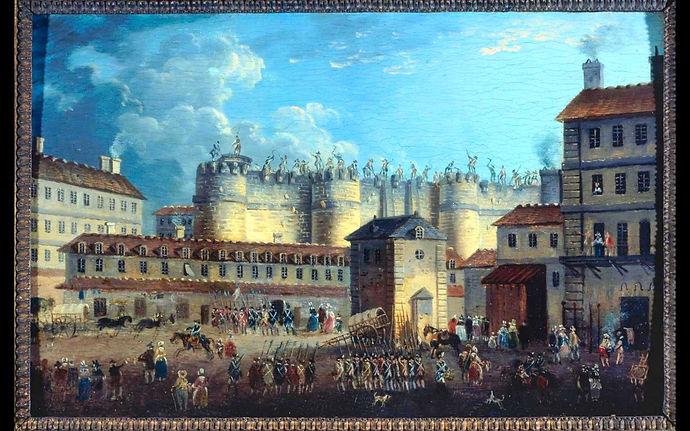 bastille demolition-demachy-vers 1789-mu