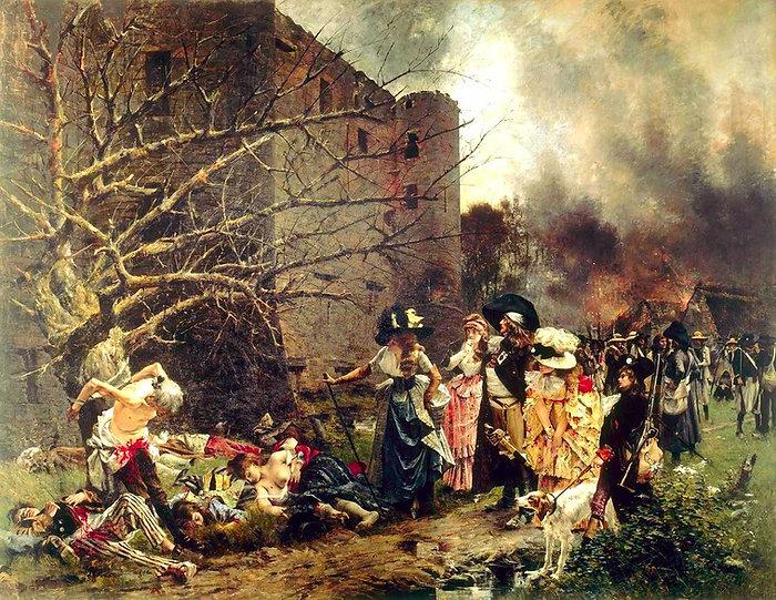 machecoul-massacre-francois flameng-1884